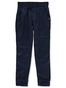 Boys' Pieced Joggers by Beverly Hills Polo Club in Navy