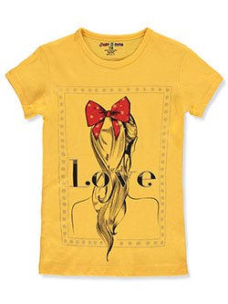 Girls' Love Hairstyle T-Shirt by Just 2 Cute in Multi