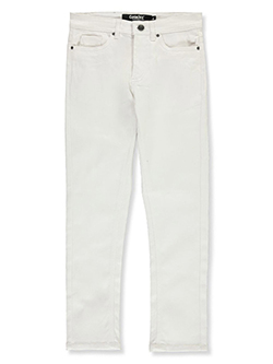 Boys' 5-Pocket Stretch Denim Jeans in White