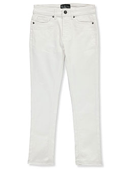 Boys' Slim Fit Jeans by GS-115 in White