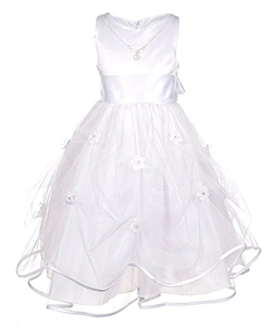 "Chic Baby ""With Jewels"" Dress (Sizes 7 – 16) - CookiesKids.com"