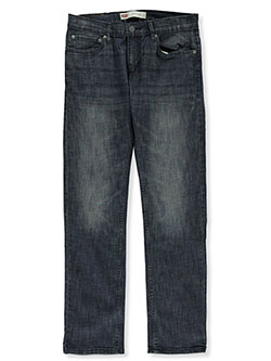Boys' 511 Slim Denim Jeans by Levis in Denim blue