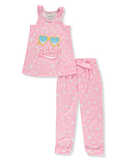 Shine On 2-Piece Pajama Set by Sleep On It in Pink/multi