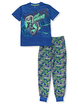 Boys' Epic Weekend 2-Piece Pajamas by Sleep On It in Multi, Sizes 8-20