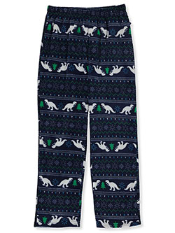 Boys' Dino Holiday Pajama Pants by Sleep On It in Multi - Boys Fashion