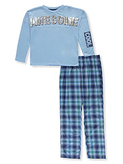 Boys' Awesome 2-Piece Pajamas by Max & Olivia in Blue/multi