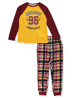 Boys' Athletic 2-Piece Pajamas by Sleep On It in Multi