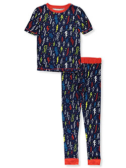 Boys' Lightning Bolt 2-Piece Pajamas by Sleep On It in Multi