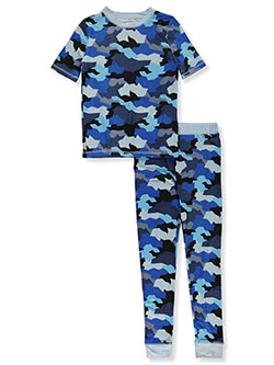 Boys' Geo Camo 2-Piece Pajamas by Sleep On It in Multi