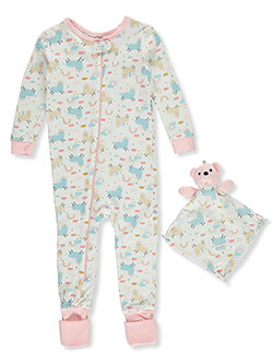 Sheepicorn Coveralls With Security Blanket by Sleep On It, Infants