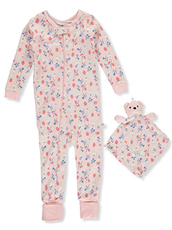 Berry Flowers Coveralls With Security Blanket by Sleep On It, Infants