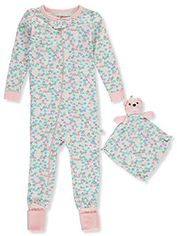 Hearts Coveralls With Security Blanket by Sleep On It, Infants