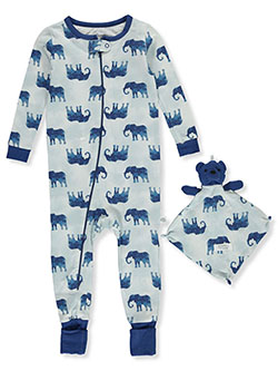 Elephants Coveralls With Security Blanket by Sleep On It
