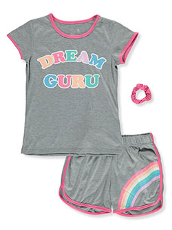 3-Piece Sleep Set by Sleep On It in gray/pink and light purple