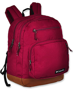 Northern Pass II Backpack by Columbia in raspberry and red