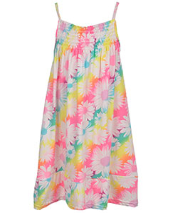 "Coney Island Little Girls' Toddler ""Floral Park"" Dress (Sizes 2T – 4T) - CookiesKids.com"