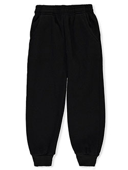 Boys' Joggers by Coney Island in black, charcoal gray, heather gray and navy