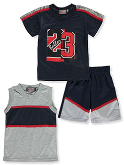 Hind Boys Flag 2-Piece Shorts Set Outfit