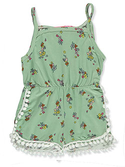 Baby Girls' Romper by Love From The Heart in green/multi and light pink - Rompers