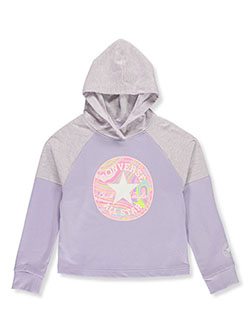 Girls' Color Swirl Logo Hoodie by Converse in Multi