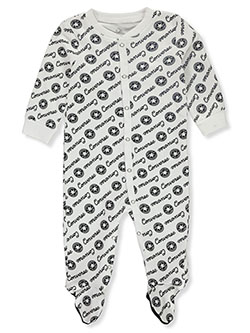 Baby Boys' Footed Coverall by Converse in White
