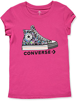 Girls' Pastel Chucks T-Shirt by Converse in Multi