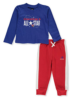 Rocket Logo 2-Piece Joggers Set Outfit by Converse in Multi