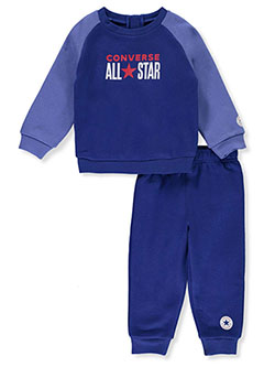 All Star 2-Piece Sweatsuit Outfit by Converse in Multi