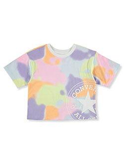 Girls' Cropped T-Shirt by Converse in Multi
