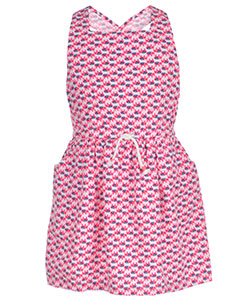 "Carter's Little Girls' ""Allover Elephant"" Dress (Sizes 4 – 6X) - CookiesKids.com"