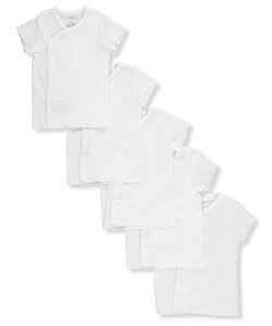 Unisex Baby 5-Pack Shirts by Carter's in White
