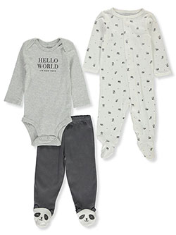 Baby Boys' Panda 3-Piece Layette Set by Carter's in Multi