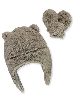 Baby Unisex Sherpa Plush Hat & Mitts Set by Carter's in Multi - $24.00