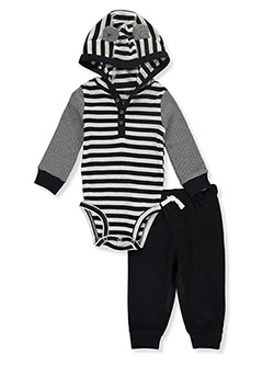 Hood Stripe 2-Piece Joggers Set Outfit by Carter's in Multi