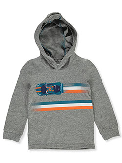 Boys' Racing Stripe Hoodie by Carter's in Heather gray