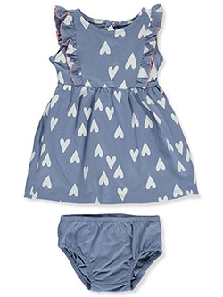 Baby Girls' Heart Dress With Diaper Cover by Carter's in Multi - $21.00