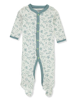 Carter's Animal Friends Footed Coveralls by Carters in White, Infants