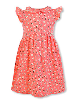 Girls' Daisy Dress by Carter's in Coral