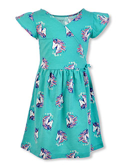 Girls' Wildflower Horse Dress by Carter's in Mint