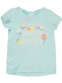 Girls' Always Sisters T-Shirt by Carter's in Mint