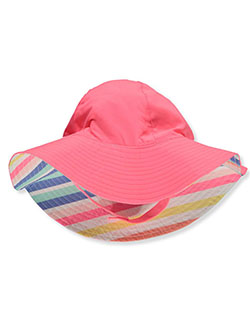 Baby Girls' Reversible Sun Hat by Carter's in Coral - Cold Weather Accessories
