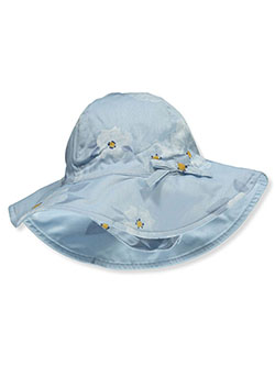Baby Girls' Floral Sun Hat by Carter's in Blue - Cold Weather Accessories