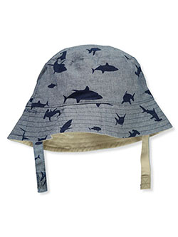 Baby Boys' Sharks Bucket Hat by Carter's in Navy - Cold Weather Accessories