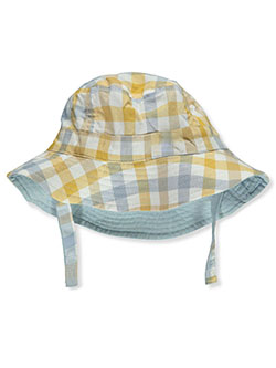 Baby Boys' Plaid Bucket Hat by Carter's in Light blue - Cold Weather Accessories