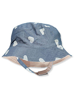 Baby Girls' Reversible Bucket Hat by Carter's in Blue/multi - Cold Weather Accessories