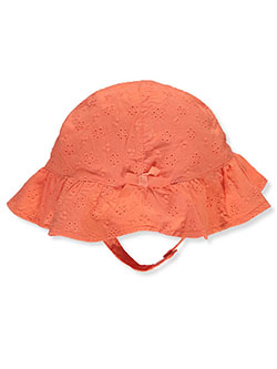 Baby Girls' Sun Hat by Carter's in Coral - Cold Weather Accessories