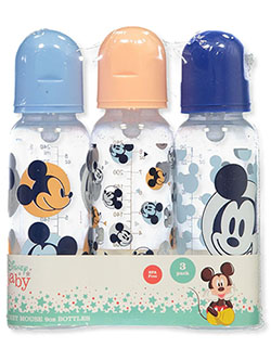 Mickey Mouse Dots 3-Pack Baby Bottles by Disney in Multi - Bottles