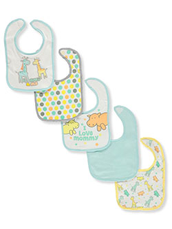 Love Mommy 5-Pack Bibs by Buttons & Stitches in Multi