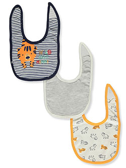 Baby Boys' 3-Pack Bibs by Buttons & Stitches in Gray/multi - Bibs