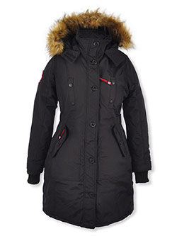 Girls' Insulated Parka by Canada Weather Gear in Black